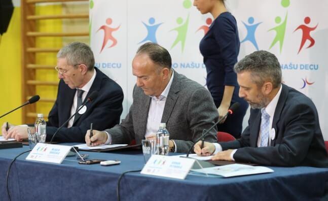 Potpisan protokol o saradnji na programu Pokrenimo nasu decu