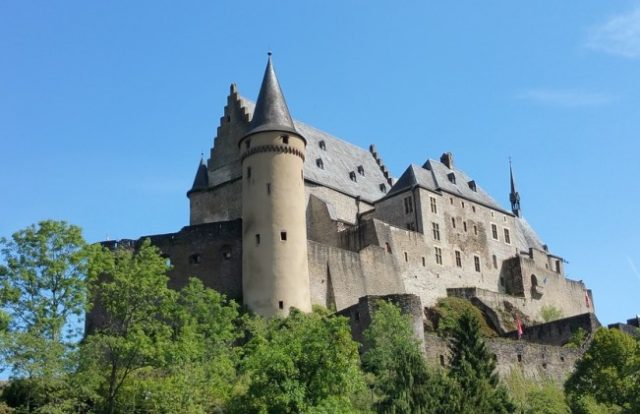 Zamak Vianden, Luksemburg