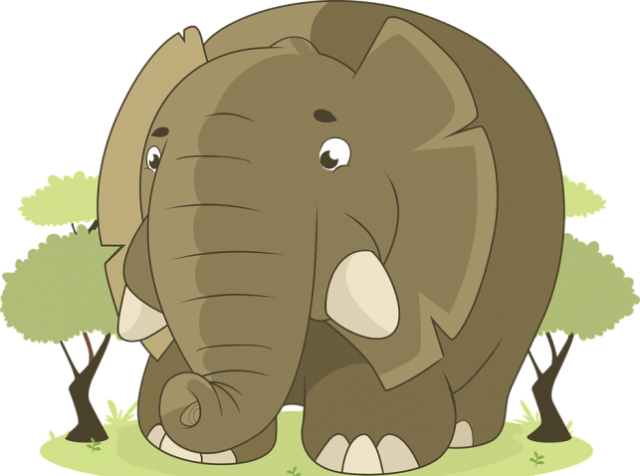 slon komarac