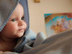 Plavooka beba lepa