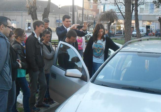 praktična obuka auto-sedišta