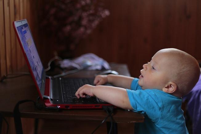 kompjuter i deca