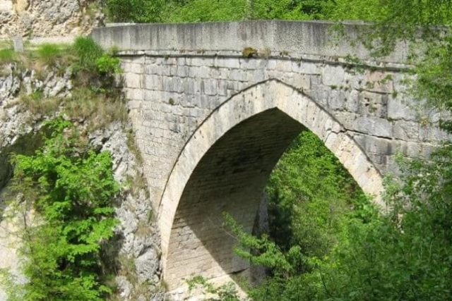 most na žepi