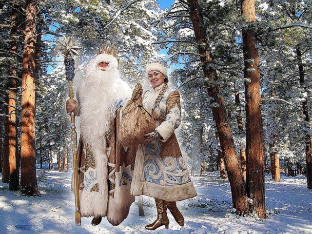 Snjeguročka i Ded Moroz (foto: flickr/Igor MalachoFF)