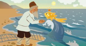 Bajka o ribaru i ribici - Puškin