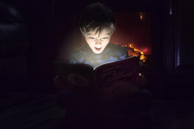 dečak-knjiga