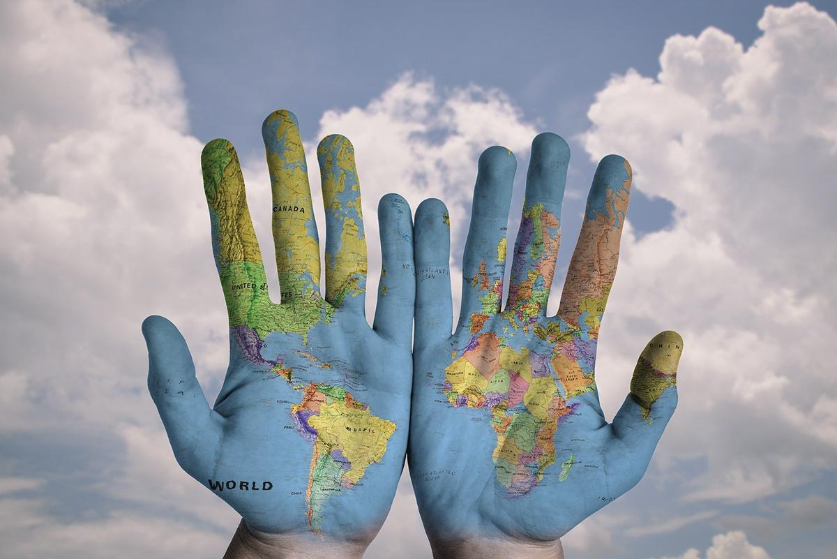 Kontinenti na mapi sveta