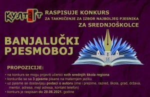 Banjalučki pjesmoboj 2021 konkurs novo 1.2.3